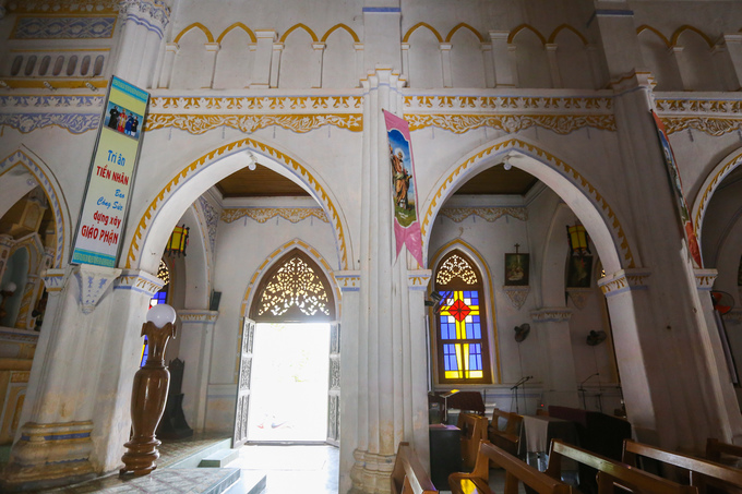 kiên trúc nhà thờ Mằng Lăng