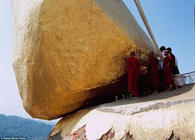chùa vàng Myanmar